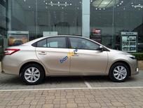 Bán xe cũ Toyota Vios đời 2015, hồng phấn