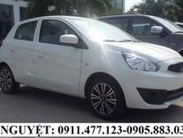 Cần bán Mitsubishi Mirage màu trắng, nhập khẩu nguyên chiếc, khuyến mãi cao tại Đà Nẵng 378 triệu