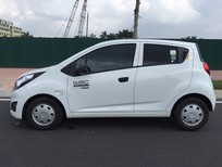 Xe Chevrolet Spark 1.0 AT 2015, màu trắng, nhập khẩu xe mới đến 90%, giá hạt dẻ