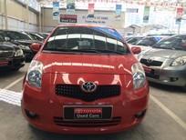 Bán ô tô Toyota Yaris 2008, màu đỏ cam
