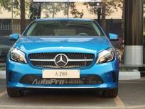 Cần bán chiếc xe Mercedes A200 SX năm 2014, màu xanh nước biển