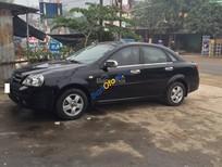 Bán ô tô Daewoo Lacetti LX sản xuất 2009, màu đen