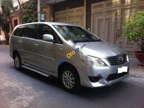 Bán xe Toyota Innova E đời 2012, màu bạc số sàn