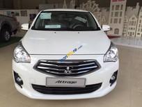 Bán xe Mitsubishi Attrage 1.2MT sản xuất 2016, màu trắng, nhập khẩu