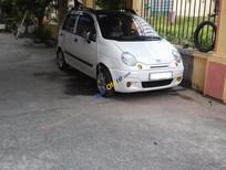 Bán Daewoo Matiz SE sản xuất 2008, màu trắng xe gia đình