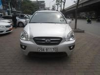 Cần bán lại xe Kia Carens 2010, màu bạc