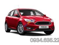 Bán xe Ford Focus Titanium năm 2017, màu đỏ