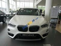 Bán xe BMW X1 Driver 18i AT năm 2017, màu trắng, nhập khẩu