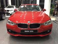 Bán xe BMW 320i 2017 màu đỏ nhập khẩu Full option Bán xe trả góp giao xe ngay