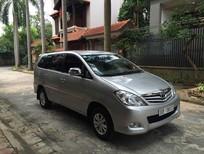 Cần bán lại xe Toyota Innova 2.0 G 2009, màu bạc chính chủ xe gia đình