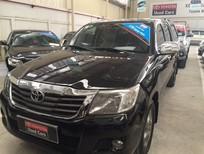 Bán Toyota Hilux bán tải E 2012, màu đen, nhập khẩu