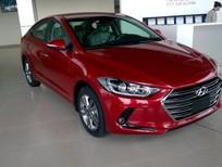 Bán xe Hyundai Elantra 2017, màu đỏ, nhập khẩu CKD, tiêu chuẩn Euro4. PKD Hyundai: 0905.976.950