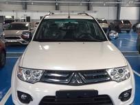 Cần bán xe Mitsubishi Pajero Sport 2016 ở Kontum, màu trắng, giá tốt nhất, giao xe tận nơi. LH: 0905.91.01.99 (Phú)