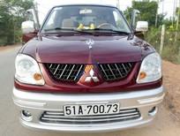 Cần bán xe Mitsubishi Jolie 2.0MPI sản xuất năm 2004, màu đỏ xe gia đình
