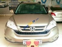 Bán Honda CR V 2.4 đời 2011, màu ghi vàng, xe đi giữ gìn, nội ngoại thất đẹp