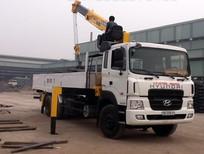 Bán xe tải gắn cẩu Hyundai HD120 5 tấn 2017 giá cạnh tranh
