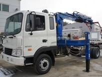 Khuyến mãi phí trước bạ khi mua  xe tải gắn cẩu Hyundai HD120 ( 5 tấn,   dài 6m )
