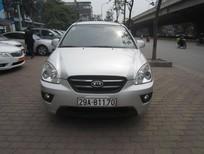 Cần bán Kia Carens SX2.0AT 2010, màu bạc, giá tốt