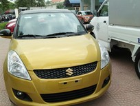 Đại lý Suzuki Trọng Thiện  bán xe Swift RS vàng đe, Km 70 tr.đ 0918886029