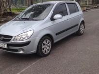 Cần bán lại xe Hyundai Getz bản đủ 2009, màu bạc, xe nhập, giá tốt