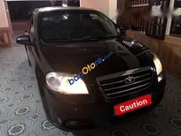 Bán xe cũ Daewoo Gentra 1.5MT sản xuất 2009, màu đen, 209 triệu