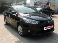 Chào bán xe Vios E 2015 màu đen tại Toyota Cầu Diễn
