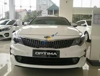 Kia Optima GAT sản xuất 2017, màu trắng, hỗ trợ trả góp, LH 0989.240.241