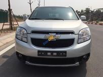 Cần bán gấp Chevrolet Orlando LTZ 1.8 sản xuất năm 2014, màu bạc