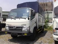 Giá bán xe tải Hino 3T5, 3.5 tấn Dutro thùng Mui Bạt, Kín mẫu mã 2017