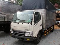 Tải thùng Hino 5 tấn. Giá bán xe tải Hino 4T9, 5 tấn thùng dài 5m