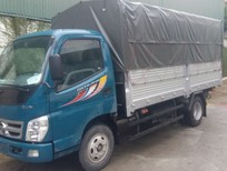 Xe tải cũ Thaco Ollin 1T85 đời 2009 thùng mui bạt
