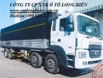 Xe tải chở gia súc, xe tải chở lợn 3-5 tấn, 7-10 tấn, 3 chân, 4 chân Hyundai, Daewoo 2016, 2017