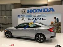 Bán Honda Civic 1.5 turbo năm sản xuất 2017, màu bạc, xe nhập