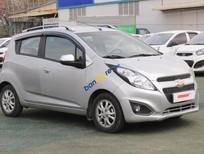 Cần bán Chevrolet Spark LT 1.0MT đời 2013, màu bạc, số sàn