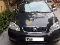 Bán Toyota Corolla altis 1.8MT đời 2003, màu đen còn mới, 350tr