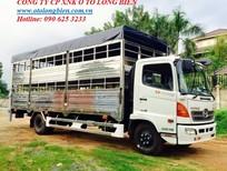 Xe tải chở gia súc, xe tải chở lợn 3-5 tấn, 8-10 tấn, 3 chân Hino, Isuzu 2016, 2017