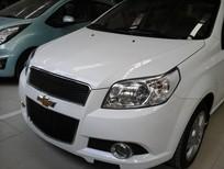Bán ô tô Chevrolet Aveo đời 2017, màu trắng, 410 triệu,bán trả góp nhanh