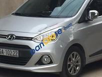 Bán xe Hyundai i10 1.0 AT đời 2015, màu bạc