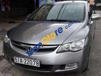 Cần bán Honda Civic AT đời 2007, màu xám, giá tốt