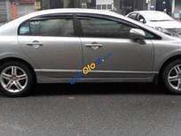 Cần bán Honda Civic năm sản xuất 2009, màu bạc xe gia đình