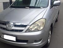 Cần bán xe Toyota Innova Dòng G đời 2006, màu bạc xe còn nguyên zin