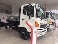 Bán ô tô Hino FL 2017, màu trắng thùng mui bạt trả góp, lh 0908.065.998