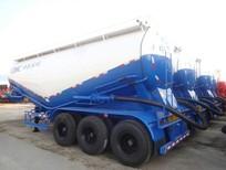 Bán Rơ Mooc CIMC Xitec Chở Xi măng rời, Xi măng Xá 30 khối, 31 tấn
