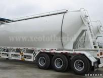 Rơ Mooc CIMC Xitec Chở Xi măng rời, CIMC 30 khối, 31 tấn, bán xe vay không thế chấp