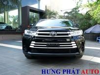 Cần bán Toyota Highlander 2.7 2017, màu đen, nhập khẩu chính hãng