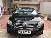 Bán ô tô Toyota Corolla altis 1.8 G năm 2009, màu đen, nhập khẩu, 550 triệu