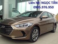 Cần bán Hyundai Elantra 2017, màu nâu, nhập khẩu nguyên chiếc, giá 664tr