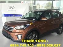 Bán ô tô Hyundai Creta 1.6 AT sản xuất 2016, màu nâu, nhập khẩu