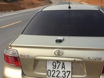 Xe Toyota Vios 1.5 G đời 2006, màu vàng