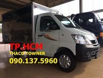 Cần bán xe Thaco TOWNER 950A năm sản xuất mới, màu vàng, nhập khẩu nguyên chiếc